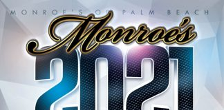 Monroe's Palm Beach 2021 Calendar Release party