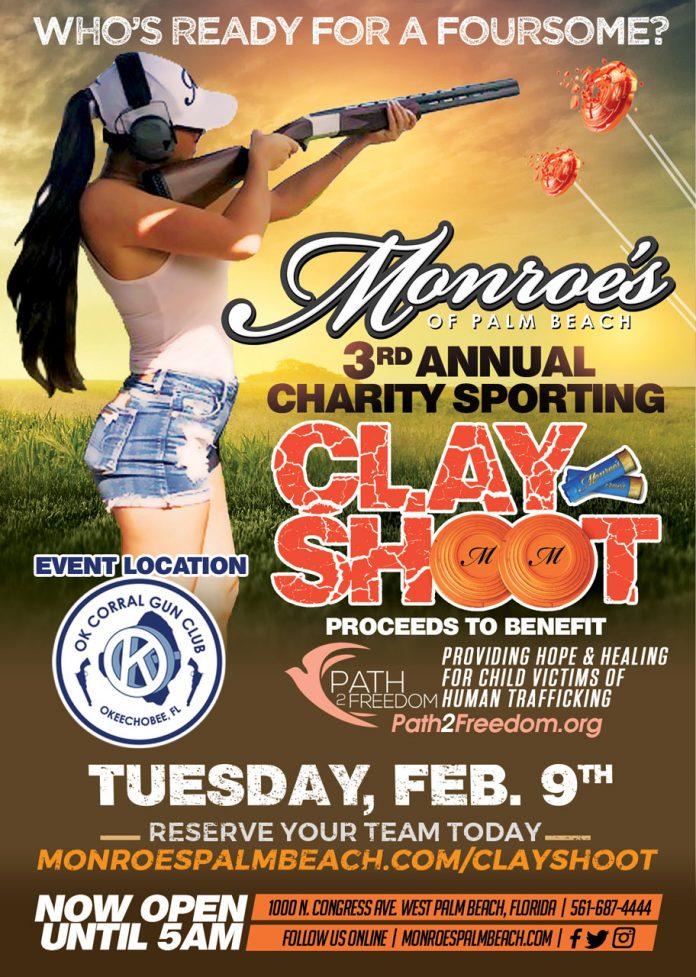 Monroes Palm Beach Charity Clay Shoot