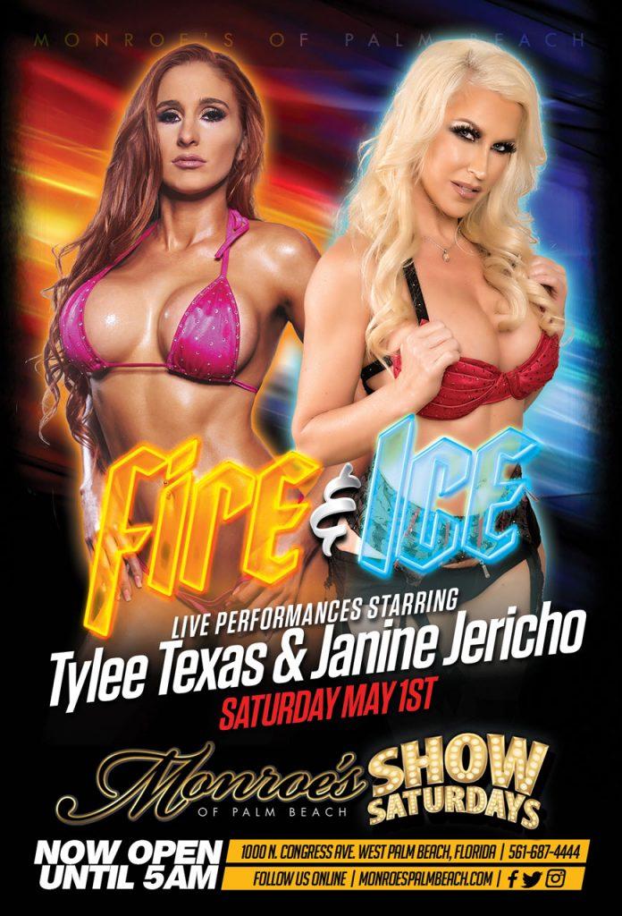 Tylee Texas Janine Jericho - Fire & Ice Monroes Palm Beach