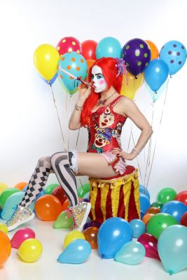 BJ McNaughty The Sexiest Clown on Earth May 22 Monroes Palm Beach