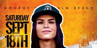DJ Cristy Lawrence Monroes Palm Beach Sept 18th