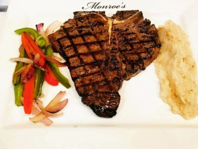 Monroe's Legends Steakhouse - T-Bone Steak