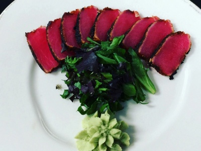 Monroe's Legends Steakhouse - Ahi Tuna